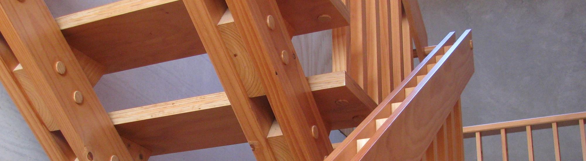 Pine Stairs